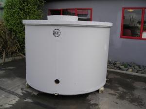 Driveway water tank