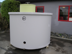 Inground water tank